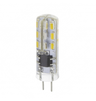 Bombilla LED G4 4W. 12V Bi-Pin Blanco Frío. 320 Lm. Angulo 360º
