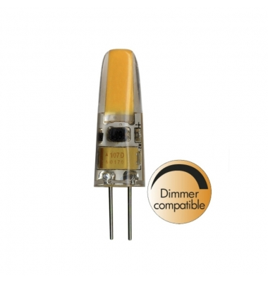Bombilla LED G4 3W Regulable. 12V. Blanco Cálido. 245 Lm. Angulo 360º