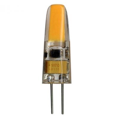 Bombilla LED G4 3W Regulable. 12V. Blanco Frío de 6500k. 200 Lm. Angulo 360º