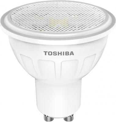 Bombilla LED Toshiba GU10 5W Blanco Frío. 350 Lm. Ángulo 60º