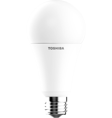 Bombilla LED Toshiba E27 A60 Estándar 16W Regulable. Blanco Cálido. 1521 Lm. Ángulo 200º