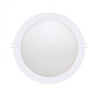 Downlight LED panel Blanco 18W - 1110Lm Bid. Blanco Cálido. Ángulo 160º