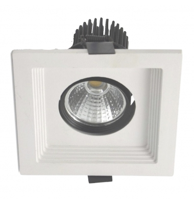 Downlight LED Space Blanco 15W COB. 2400 Lm. Ángulo 24º. LED Epistar