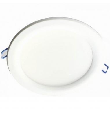 Downlight LED Eco Blanco 18W COB. 1600 Lm. Ángulo 100º. LED Epistar