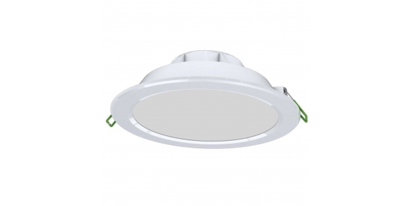 Downlight LED Ap Blanco 25W COB. 2150 Lm. Ángulo 100º. LED Epistar