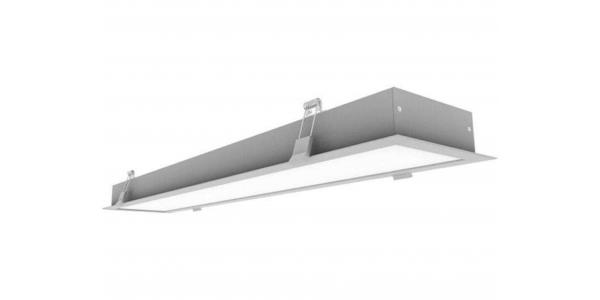 Downlight Panel LED Study 60W. 120cm. Blanco Frío. 6270 Lm. Ángulo 120º