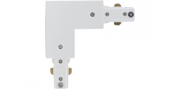 Conector Unión L Carril Monofásico