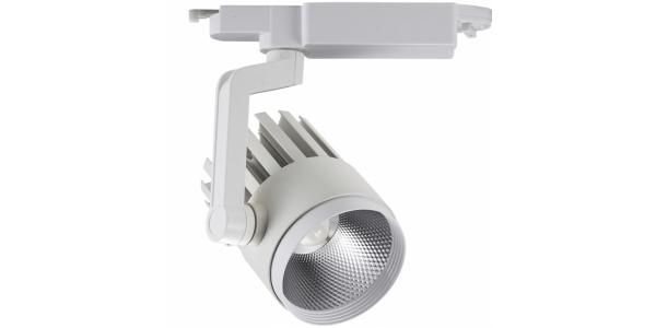 Foco Carril LED Renno 25W. 2000 Lm. Ángulo 60º