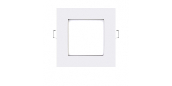 Foco Empotrable LED Square 6W - 430 Lm. Blanco Natural. Ángulo 120º