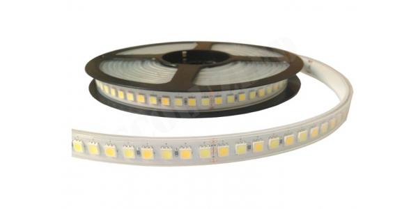 Tira LED CCT 14.4W/m, 24VDC. Rollo 5 metros. 3000K-6000K. 60 LEDs/metro. SMD5050. Uso Interior y Espacios Húmedos - IP67