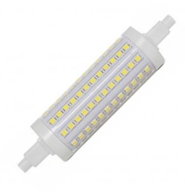 Bombilla LED R7s 12W 118mm. 1200 Lm. Blanco Frío. Ángulo 360º