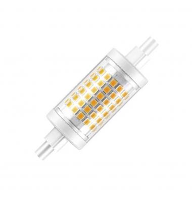Bombilla LED R7s 7W 78mm. 1000 Lm. Blanco Cálida. Ángulo 360º
