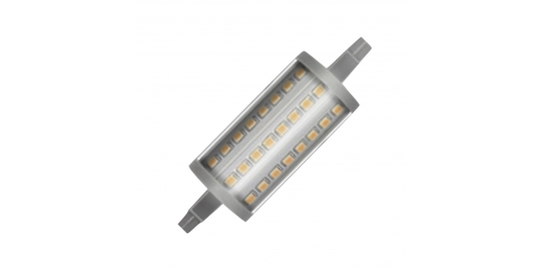 Bombilla LED R7s Regulable 7W 78mm. Lineal