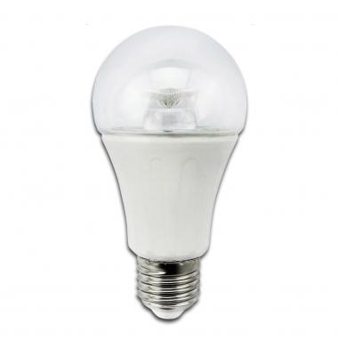 Bombilla LED E27 A60 Estándar 8W. Blanco Cálido. Ángulo 280º