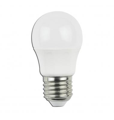 Bombilla LED E27 C45 4W. Ángulo 230º. Blanco Cálido
