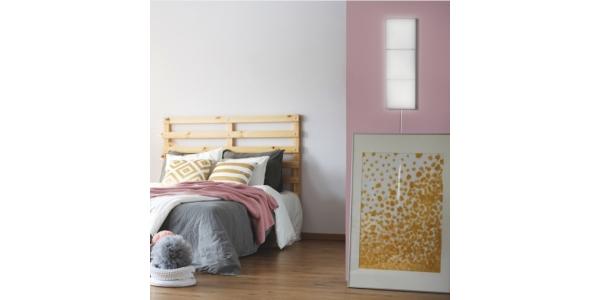 Panel LED Cuadrado Extensión 2.9W Puzzle. Luz Natural. Marco Blanco