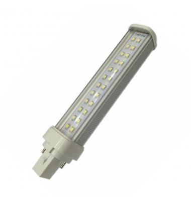 Bombilla G24 LED 2PIN 9W - 850Lm. Ángulo 160º. Blanco Frío.