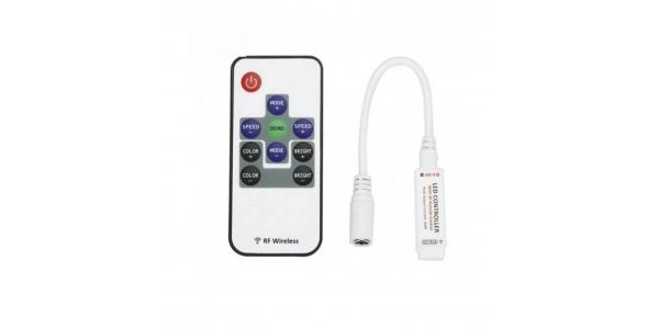 Controlador Tira LED MonoColor Por Control Remoto