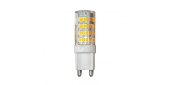 Bombilla LED G9 4W. Ángulo 360º. 320 Lm. Blanco Frío