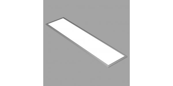 Panel LED 40W. 120 x 30. Marco Blanco