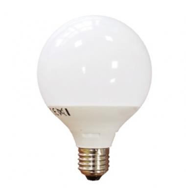 Bombilla LED Globo G120 E27 15W. Blanco Natural. Ángulo 270º