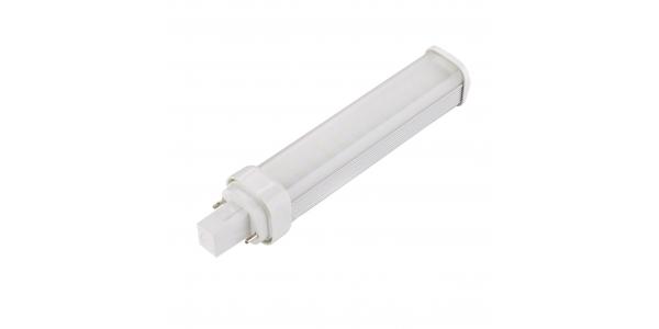Bombilla G24 LED 2PIN 11W - 1000lm. Ángulo 160º. Blanco Frío