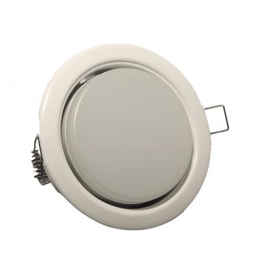 Kit Empotrable LED Ground Blanco GX53 7W. 750 Lumen. Ángulo 120º