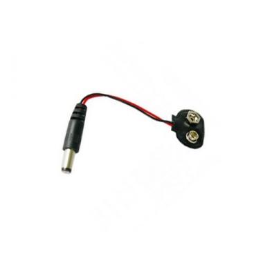 Conector LED&RGB Batería 9V Jack Macho