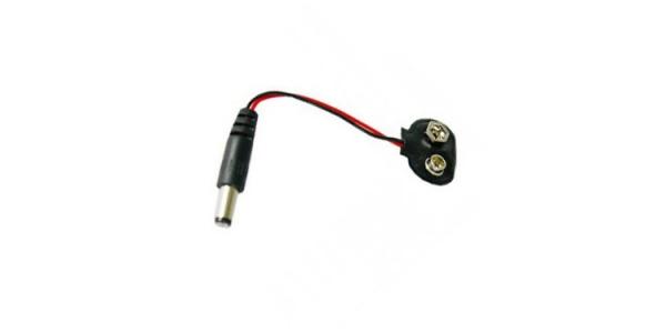 Conector LED Monocolor y RGB Batería 9V Jack Macho