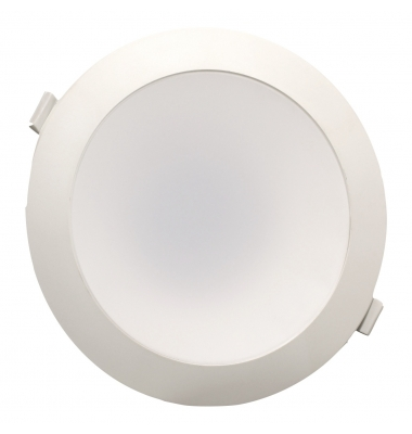 Downlight LED Horizon Blanco 25W. 2400 Lm. Ángulo 90º. Blanco Frío