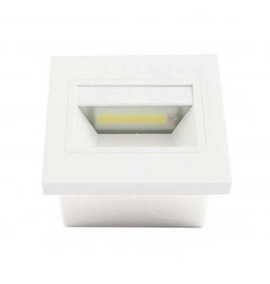 Baliza LED Interior Hydra 1.5W - 165Lm. Acabado Blanco. Sistema Empotrable
