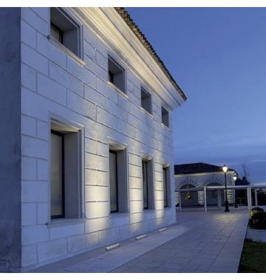 Bañador Wall Lineal LED 18W Exterior. 1800 Lm. Ángulo 60º. Blanco Cálido