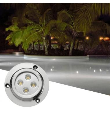 Foco Sumergible LED Boat Exterior 10W. Uso Subacuático