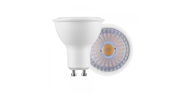 Bombilla LED GU10 5W. Ángulo 60º. Blanco Frío de 6000k