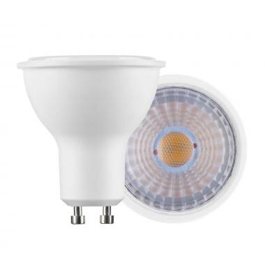 Bombilla LED GU10 7W. Ángulo 60º. Blanco Cálido