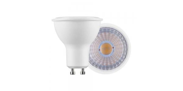 Bombilla LED GU10 7W. Ángulo 60º. Blanco Frío - 6000k