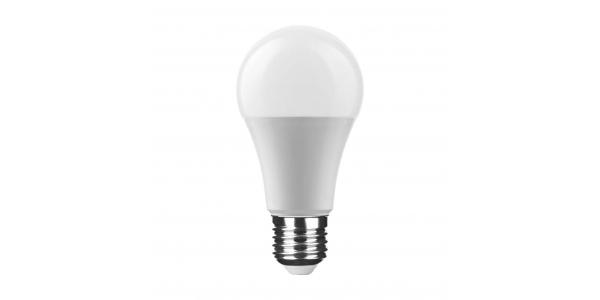 Bombilla LED E27 A60 Estándar 9W. Blanco Cálido. Ángulo 270º