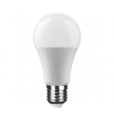 Bombilla LED E27 A60 Estándar 15W. Blanco Natural. Ángulo 270º