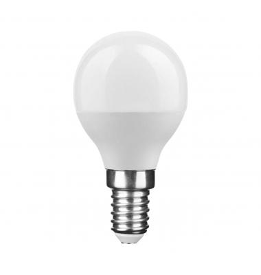 Bombilla LED E14 G45 Esférica 6W. 2700k - Blanco Cálido. Ángulo 270º