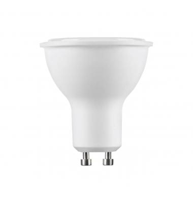 Bombilla LED GU10 7W. 2700k - Blanco Cálido. Ángulo 100º