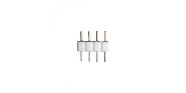 Unión conector 4 pin RGB Macho con Macho