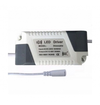 Recambio Driver Downlight Panel LED 8W a 18W. Modelos Bis y Square