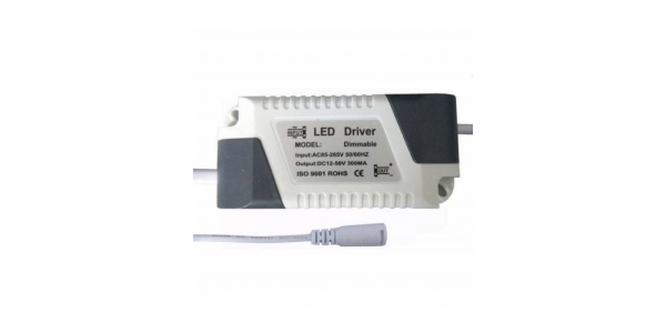Recambio Driver Downlight Panel LED 8W a 18W. Modelos Bis y Square