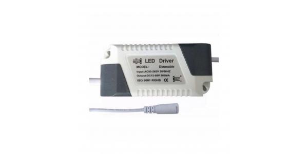 Recambio Driver Regulable Downlight Panel LED 15W a 24W. Modelos Bid y Square