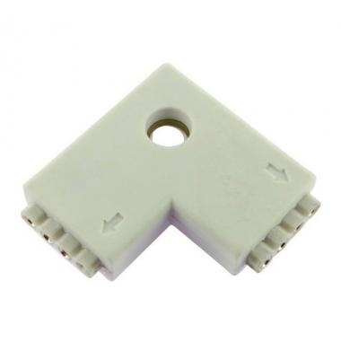 Unión conector Hembra RGB L 4 pin 2 Tiras