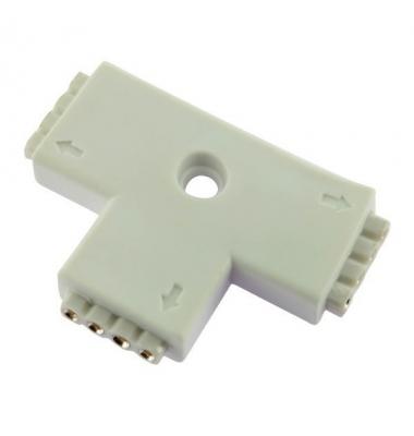 Unión conector Hembra RGB L 4 pin 3 Tiras
