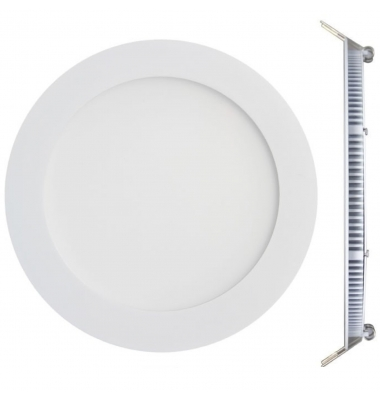Downlight LED panel Blanco 24W - 1720Lm Bid. Blanco Natural. Ángulo 160º