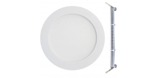 Downlight LED panel Blanco 24W - 1920Lm Bid. Blanco Frío. Ángulo 160º