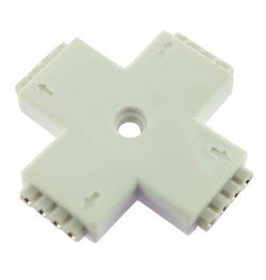 Unión conector Hembra RGB L 4 pin 4 Tiras