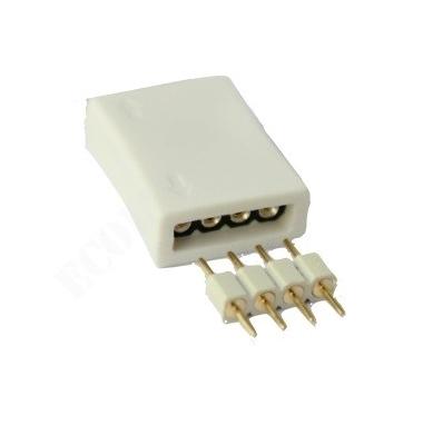 Unión conector Hembra RGB 4 pin